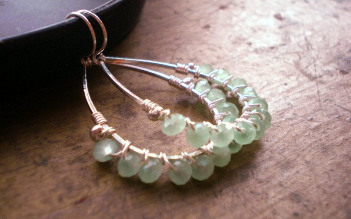 25+ Stylish Tutorials for Wire Wrapped Earrings | Guide Patterns