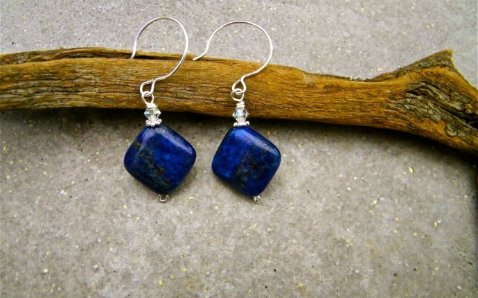 Best Friends Lapis Lazuli Handcrafted Earrings | Stones in Harmony