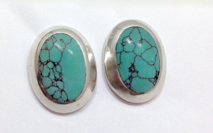 Earrings Sterling Silver Fmge Sterling Silver Turquoise Earrings