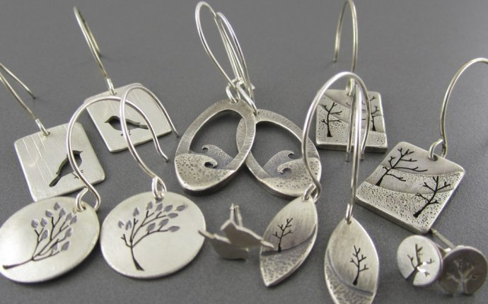 Hand Made Silver Earrings - Earrings Collection