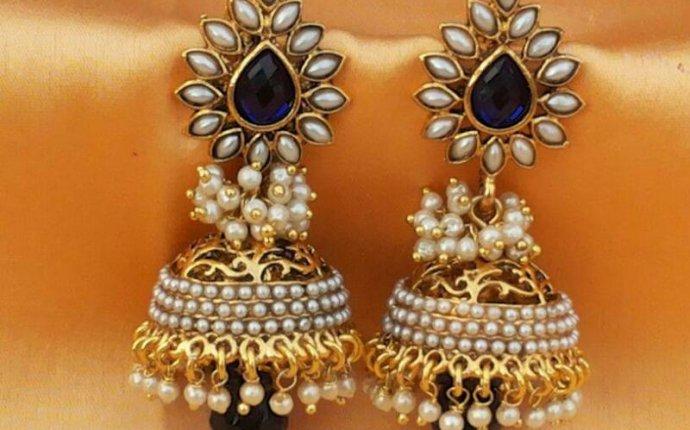 Jhumka Earrings Online Shopping - Socialbliss