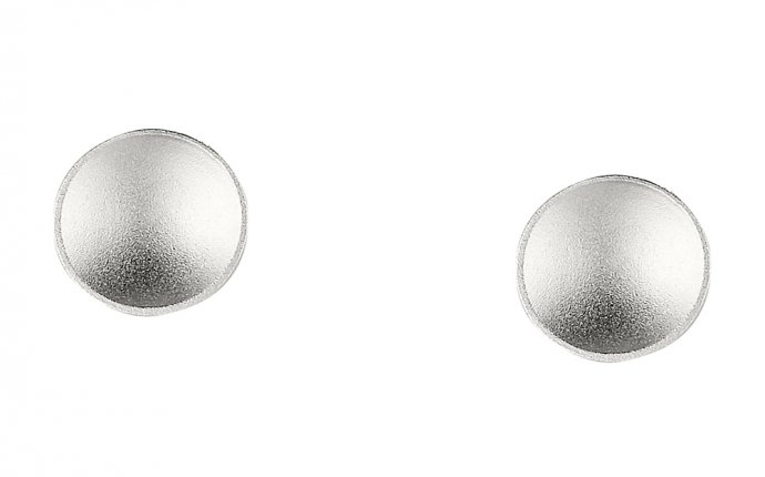 MCA Chicago Store | Silver Disc Earrings