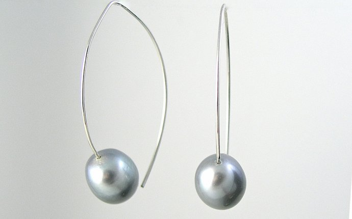 Silver Wire Earrings - Facbooik.com