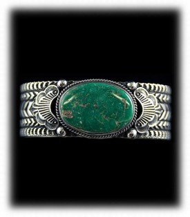 Handcrafted Turquoise Bracelet