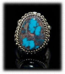 Mens Bisbee Turquoise Gemstone Jewelry